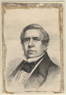 David Roberts, by Mason Jackson, published by  Illustrated London News, after an intermediary drawing by  Thomas Dewell Scott, after a photograph by  John & Charles Watkins - NPG D1397
