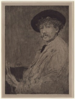 James Abbott McNeill Whistler, after William Brassey Hole, after  James Abbott McNeill Whistler - NPG D1400