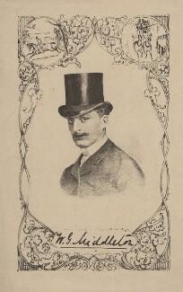 William George Middleton, after Unknown artist - NPG D1402