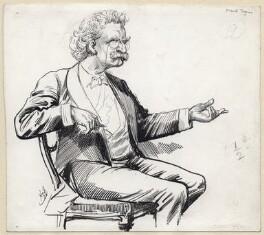 Mark Twain, by Harry Furniss - NPG D141