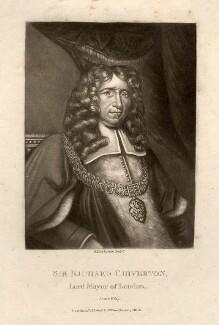 Sir Richard Chiverton, by Robert Dunkarton, after  Unknown artist - NPG D1410