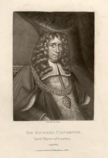 Sir Richard Chiverton, by Robert Dunkarton, after  Unknown artist - NPG D1411