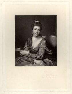 Elizabeth Catherine ('Kitty') Clarke (née Hunter), by Robert Bowyer Parkes, after  Sir Joshua Reynolds - NPG D1414