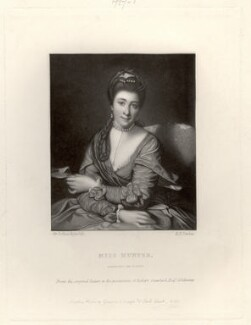 Elizabeth Catherine ('Kitty') Clarke (née Hunter), by Robert Bowyer Parkes, after  Sir Joshua Reynolds - NPG D1415