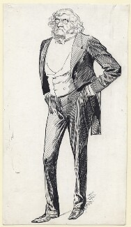 William Makepeace Thackeray, by Harry Furniss - NPG D142