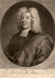 Matthew Clarke, by George White, after  Unknown artist - NPG D1424