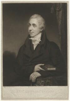 George Clayton, by George Clint, after  Thomas Stewardson - NPG D1427