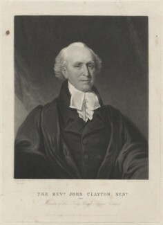 John Clayton, by Charles Turner, after  W. McCall - NPG D1428