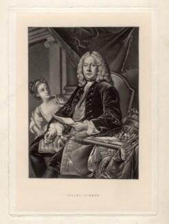 Colley Cibber, after Jean Baptiste van Loo - NPG D1448