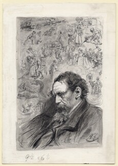 Charles Dickens, by Harry Furniss - NPG D145