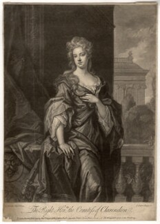 Jane Hyde (née Leveson-Gower), Countess of Clarendon and Rochester, by John Faber Jr, after  Sir Godfrey Kneller, Bt - NPG D1452