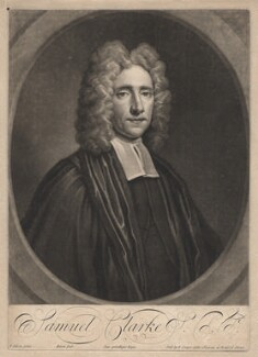 Samuel Clarke, by John Simon, after  Thomas Gibson - NPG D1458