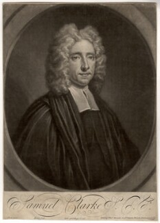 Samuel Clarke, by John Simon, after  Thomas Gibson - NPG D1460