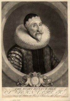Sir John Coke, by George White, after  Unknown artist - NPG D1490