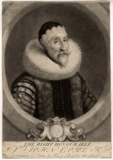Sir John Coke, by George White, after  Unknown artist - NPG D1491