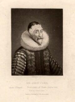 Sir John Coke, by Robert Dunkarton, after  Unknown artist - NPG D1492
