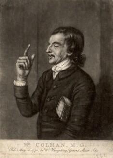 Mr Colman, by William Humphrey, after  Unknown artist - NPG D1498