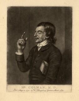 Mr Colman, by William Humphrey, after  Unknown artist - NPG D1499