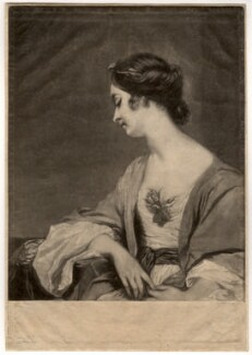 Christiana Collier (née Gwyn), by James Watson, after  Sir Joshua Reynolds - NPG D1503