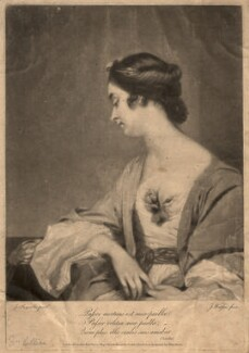 Christiana Collier (née Gwyn), by James Watson, after  Sir Joshua Reynolds - NPG D1504