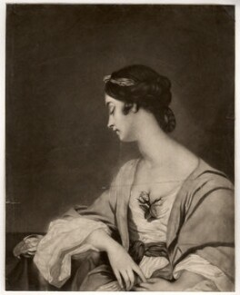 Christiana Collier (née Gwyn), by James Watson, after  Sir Joshua Reynolds - NPG D1505
