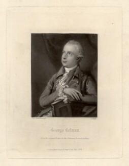 George Colman the Elder, by James Scott, after  Thomas Gainsborough - NPG D1510