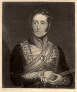 Sir John Conroy, 1st Bt, by William James Ward, after  William Fowler - NPG D1518