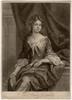 Catherine Copley (née Purcell), Lady Copley, by John Smith, after  Sir Godfrey Kneller, Bt - NPG D1526