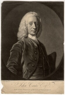 John Coutts, by James Macardell, published by  Alexander Palmer, after  Allan Ramsay - NPG D1530