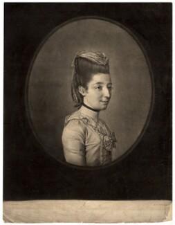 Elizabeth Cox (née Green), by Robert Laurie, after  Hugh Douglas Hamilton - NPG D1531
