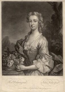 Isabel Mackenzie (née Gordon), Countess of Cromartie, by John Faber Jr, after  Henry Pickering - NPG D1538