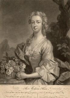 Isabel Mackenzie (née Gordon), Countess of Cromartie, by John Faber Jr, after  Henry Pickering - NPG D1539