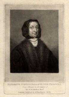 Elizabeth Cromwell (née Steward), by Charles Turner, published by  Samuel Woodburn - NPG D1541