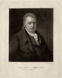 T. Crumpton, by Thomas Goff Lupton, after  George Clint - NPG D1543