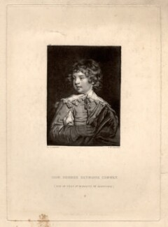 Lord George Seymour Conway, by Samuel William Reynolds, published by  Hodgson & Graves, after  Sir Joshua Reynolds - NPG D1545