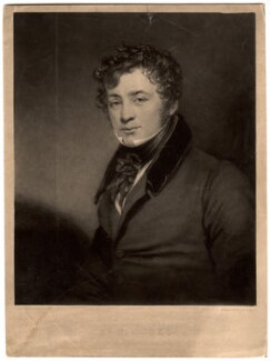 Thomas Simpson Cooke, by Thomas Goff Lupton, after  George Clint - NPG D1547