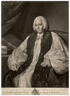 Frederick Cornwallis, by Edward Fisher, after  Nathaniel Dance (later Sir Nathaniel Holland, Bt) - NPG D1558