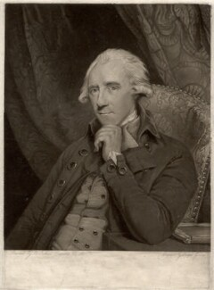 John ('Fish') Craufurd, by Joseph Grozer, after  Sir Joshua Reynolds - NPG D1570