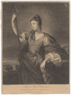 Lady Anne Dawson (née Fermor), by James Macardell, after  Sir Joshua Reynolds - NPG D1571
