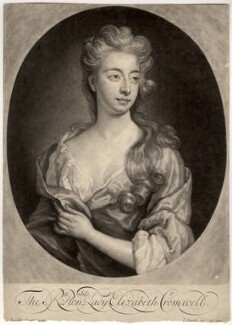 Elizabeth Southwell (née Cromwell), Lady Cromwell, by and published by John Smith, after  Sir Godfrey Kneller, Bt, 1699 - NPG D1583 - © National Portrait Gallery, London