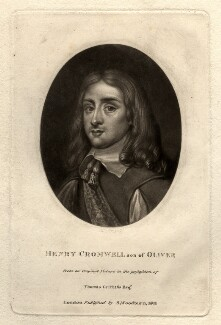 Henry Cromwell, by Richard Earlom, after  Unknown artist - NPG D1585