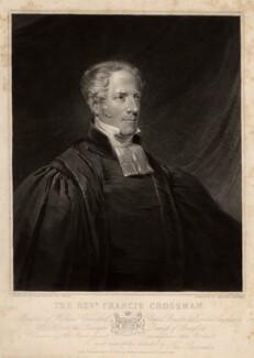 Francis Geach Crossman, by William Barnard, published by  Welch & Gwynne, after  William Salter - NPG D1595