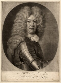 Mitford Crowe, by and published by John Smith, after  Thomas Murray, 1703 - NPG D1598 - © National Portrait Gallery, London