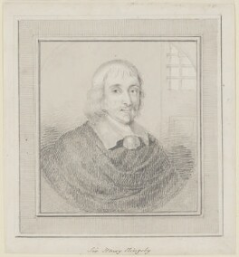 Sir Henry Slingsby, Bt, by Unknown artist - NPG D160