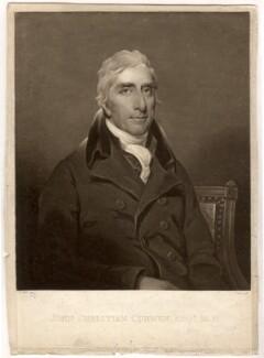 John Christian Curwen, by Charles Turner, after  John James Halls - NPG D1602