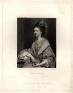 Elizabeth Crooke (née Parry), by George H. Every, after  Sir Joshua Reynolds - NPG D1604