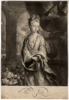 Mrs Cross, by John Smith, after  Thomas Hill - NPG D1606