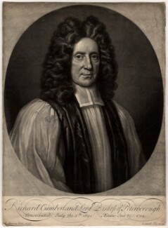 Richard Cumberland, by John Smith, after  Thomas Murray, 1714 (1706) - NPG D1609 - © National Portrait Gallery, London