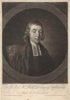 Richard de Courcy, by Jonathan Spilsbury, after  John Russell - NPG D1629