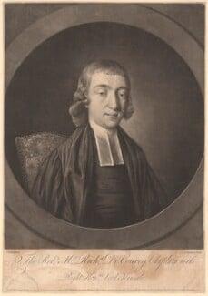 Richard de Courcy, by Jonathan Spilsbury, after  John Russell - NPG D1630